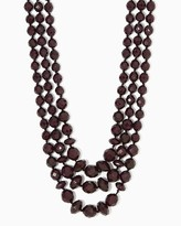 Charming charlie Betty Beaded Linear Necklace