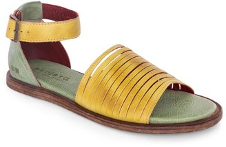 Bed Stu Sliced Leather Adjustable Sandals - Lilia