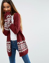 Asos Cardigan in Holidays Fair Isle