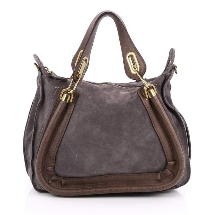 Chloé Grey Leather Handbag