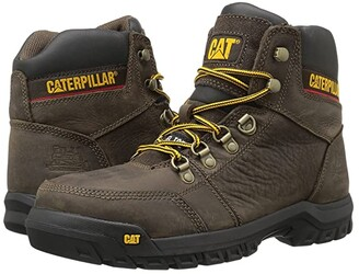 Caterpillar Outline ST (Black) Men's Work Lace-up Boots