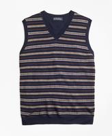 Brooks Brothers Merino Wool Fair Isle Vest