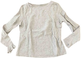 Dusan Grey Cotton Top for Women