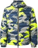 Kent & Curwen camouflage puffer jacket