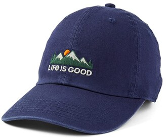 Life is Good LIG Mountains Chill Cap (Darkest Blue) Caps