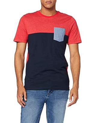 Jack and Jones Men's Jcoeagle Tee Ss Crew Neck T-Shirt,Xx-Large