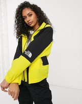 The North Face Peril Wind jacket in yellow