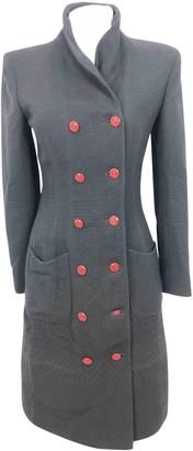 Ungaro Black Wool Coats