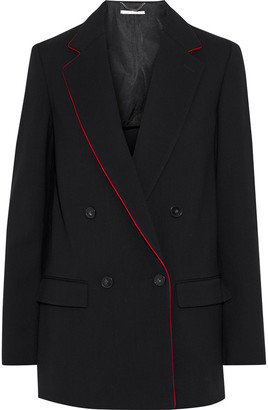 Stella McCartney Milly Double-breasted Wool-cady Blazer