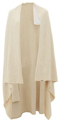 Extreme Cashmere - Raw-edge Stretch-cashmere Wrap - Womens - Cream