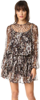 Zimmermann Gossamer Lattice Drawn Dress