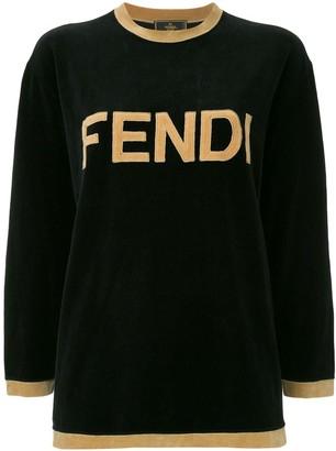Fendi Pre Owned Long Sleeve Sweatshirt