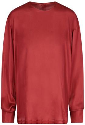 Ann Demeulemeester Oversized Back-Buttoned Blouse