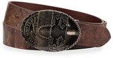Maison Margiela Distressed Leather Artisanal Belt