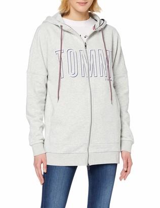 Tommy Jeans Women's Long Hoodie Hooded Sweatshirt