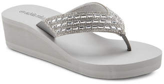OLIVIA MILLER Dare to Dream Wedge Sandals Women Shoes