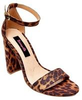 Betseyville by Betsey Johnson Women's CatKall Quarter Strap Sandals -