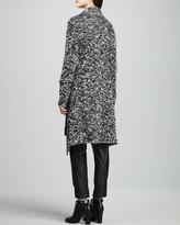 Rachel Zoe Amour Boucle Tie-Neck Sweater