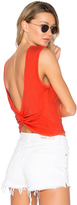 Alexander Wang Open Back Twist Tank