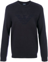 Armani Jeans classic fitted sweater