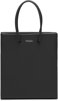 Medea Short Calfskin Leather Bag