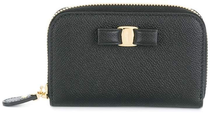 Salvatore Ferragamo zip-around Vara wallet
