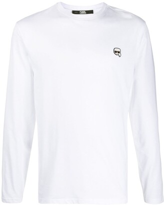 Karl Lagerfeld Paris Ikonik patch T-shirt