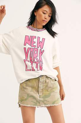 Original Retro Brand New York New York Pullover by Black Label at Free People