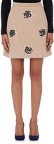 Christopher Kane Women's Wool-Blend Tweed Miniskirt-BLACK