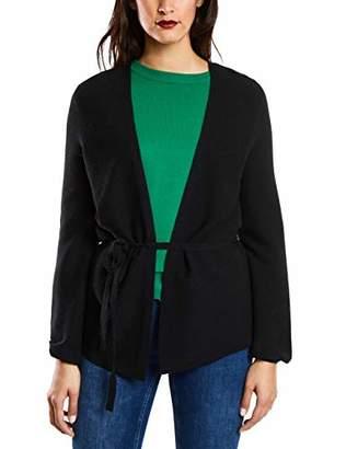 Street One Women's 252766 Cardigan, (Frost Grey Melange 11119), (Size: )