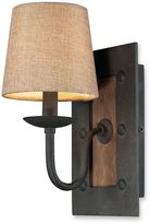Bed Bath & Beyond 1-Light Sconce in Colonial Maple/Vintage Rust