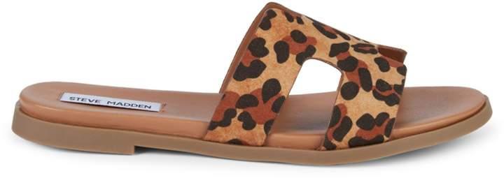 abf6895b5c7 Dariella Leopard-Print Slides