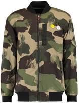 Quiksilver Trestles Bomber Jacket Scratch Camo Colour