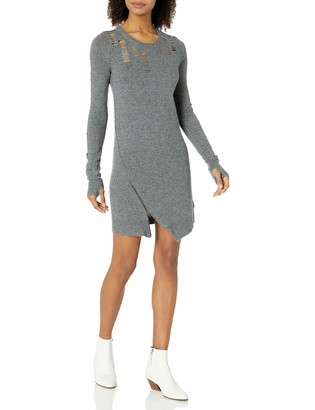 Pam & Gela Women's Shredded Dress