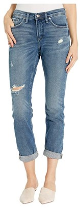 Silver Jeans Co. Not Your Boyfriend's Jeans Mid-Rise Slim Leg in Indigo (Indigo) Women's Jeans