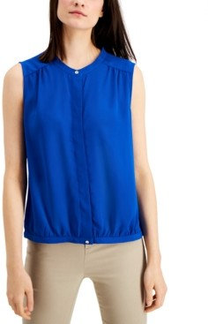 Alfani Band Collar Blouse, Created for Macy's
