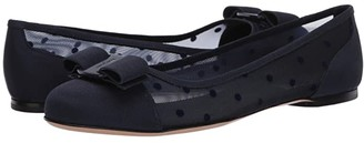 Salvatore Ferragamo Varina Dots (Oxford Blue) Women's Shoes