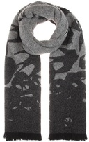 McQ by Alexander McQueen Wool-blend scarf