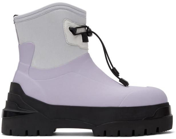 Moncler Genius SSENSE Exclusive 6 1017 ALYX 9SM Purple Alison Boots
