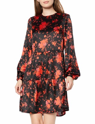 Private Label Amazon Brand - find. Women's Mini Floral A-Line Dress