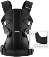 BABYBJÖRN Baby Carrier One with Bib in Black