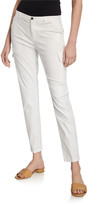 ATM Anthony Thomas Melillo Stretch Cotton Slim Ankle Pants