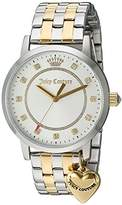 Juicy Couture Women's 'Socialite' Quartz Stainless Steel Automatic Watch, Color:Two Tone (Model: 1901477)
