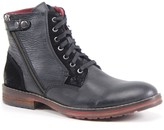 Testosterone Shoes Men's Leather Lace-Up Boots- Ball Of Fire