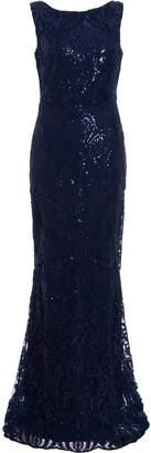 Dorothy Perkins Womens *Quiz Blue Sleeveless Maxi Dress, Blue