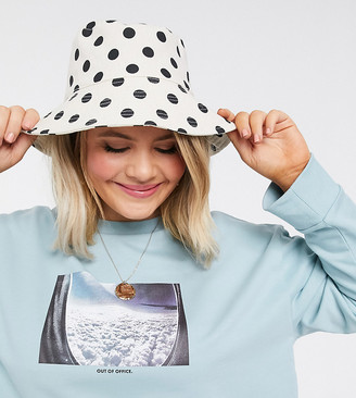 ASOS DESIGN Curve sweat with out of office print in sage green