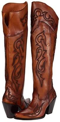 Dan Post Seductress (Chestnut) Women's Boots