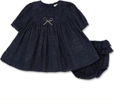 Marie Chantal Marie-Chantal Mini Navy Sparkle Dress