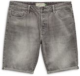 Denim Grey Rip Shorts