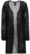 Haider Ackermann Cotton And Mohair-blend Open Cardigan
